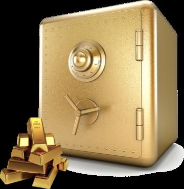 Goldplan, Gold, Safe